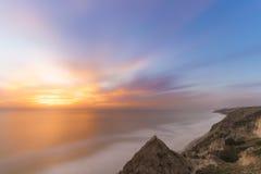 Сосны Torrey, пляж Сан-Диего, Калифорния Стоковая Фотография
