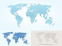 Составляет карту картоведение отображения мира силуэта плана контура земли глобуса иллюстрация штока