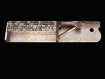составляя typographer ручки s Стоковое Изображение RF
