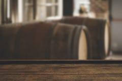Составное изображение взгляда высокого угла деревянного настила Стоковое Фото