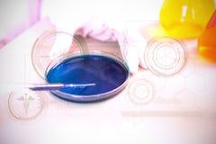 Составное изображение загоренных медицинских символов Стоковое Изображение RF