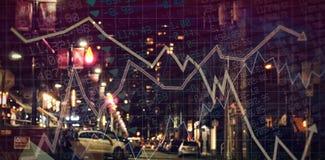 Составное изображение запасов - и - доли Стоковая Фотография