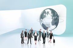 Составное изображение команды дела стоковые изображения rf