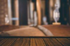 Составное изображение конца-вверх деревянного настила Стоковые Фотографии RF