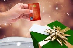 Составное изображение кредитной карточки мира иллюстрация штока