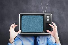 Составное изображение надоеданного бизнесмена поднимая его руки иллюстрация вектора
