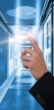 Составное изображение показывать руки бизнесмена Стоковое Изображение RF