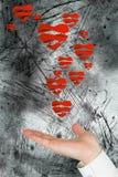 Составное изображение представлять руки Стоковое Фото