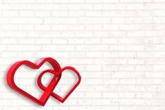 Составное изображение соединять сердца иллюстрация вектора