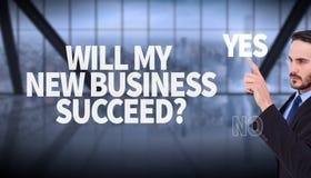 Составное изображение сфокусированного бизнесмена указывая в куртку костюма Стоковое Изображение