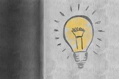 Составное изображение электрической лампочки иллюстрация вектора