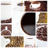 Составное изображение эспрессо Стоковые Фотографии RF