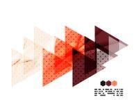 Составы вектора светлые геометрические Стоковое Изображение