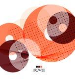 Составы вектора светлые геометрические Стоковое фото RF