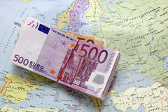 составьте карту деньги Стоковое фото RF