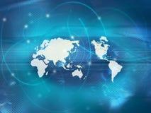 составьте карту мир Стоковое Изображение RF