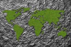 составьте карту мир Стоковые Фотографии RF