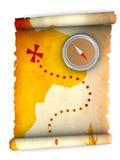 составьте карту сокровище бесплатная иллюстрация