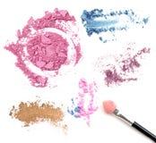 Составьте комплект цвета и покраснейте изолят Стоковое фото RF
