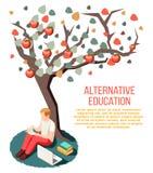 Состав альтернативного образования равновеликий иллюстрация штока