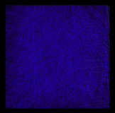 состав Безцельн-цвета абстрактный с cyan ходы на blac Стоковое Фото