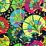 Состав декоративных одуванчиков Стоковое Изображение