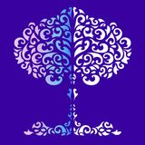 Состав декоративных одуванчиков Стоковые Изображения RF
