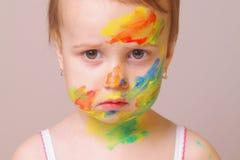 Состав детей (юмористическое изображение) Стоковые Фотографии RF