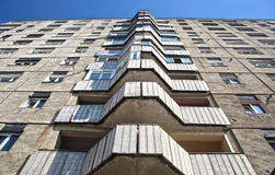 состав жилого дома симметричный Стоковое Изображение