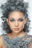 Сторона красивейшей азиатской девушки. Стоковое Фото