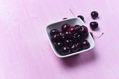 Состав зрелой сладостной вишни Стоковое Изображение RF
