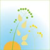Состав листьев Стоковые Изображения RF