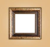 Состав картинной рамки Copyspace пустой деревянный Стоковые Изображения RF