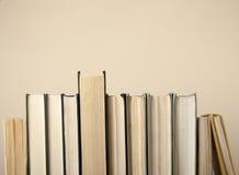 Состав книг hardback задняя школа к Космос экземпляра предпосылки образования для текста Стоковые Фото