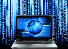 Состав команд вычислительной машины стоковое изображение