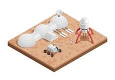 Состав космоса Ракеты равновеликий бесплатная иллюстрация