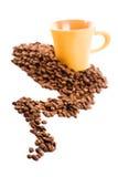 состав кофе стоковая фотография