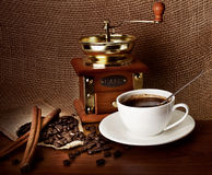 состав кофе Стоковое Изображение RF