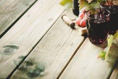 Состав красного вина стоковые фото