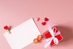 Состав дня валентинки Стоковые Фото
