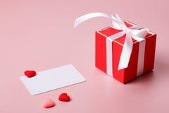 Состав дня валентинки Стоковые Фотографии RF