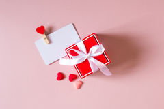 Состав дня валентинки Стоковое Изображение RF