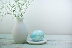Состав пасхальных яя стоковая фотография rf