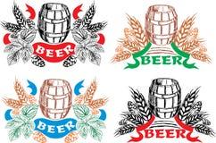 состав пива творческий Стоковая Фотография