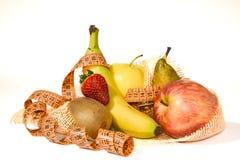 Состав плодоовощ, принципиальная схема сбалансированного диетпитания Стоковые Изображения