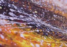 Состав покрашенный маслом абстрактный Стоковые Фото