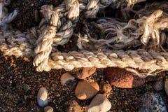 Состав пляжа абстрактный Стоковое фото RF