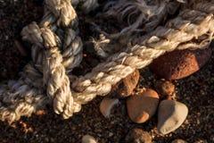 Состав пляжа абстрактный Стоковые Фото