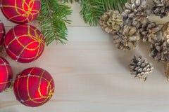 Состав рождества и Нового Года Стоковые Фото
