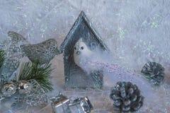 Состав рождества и Нового Года Стоковая Фотография